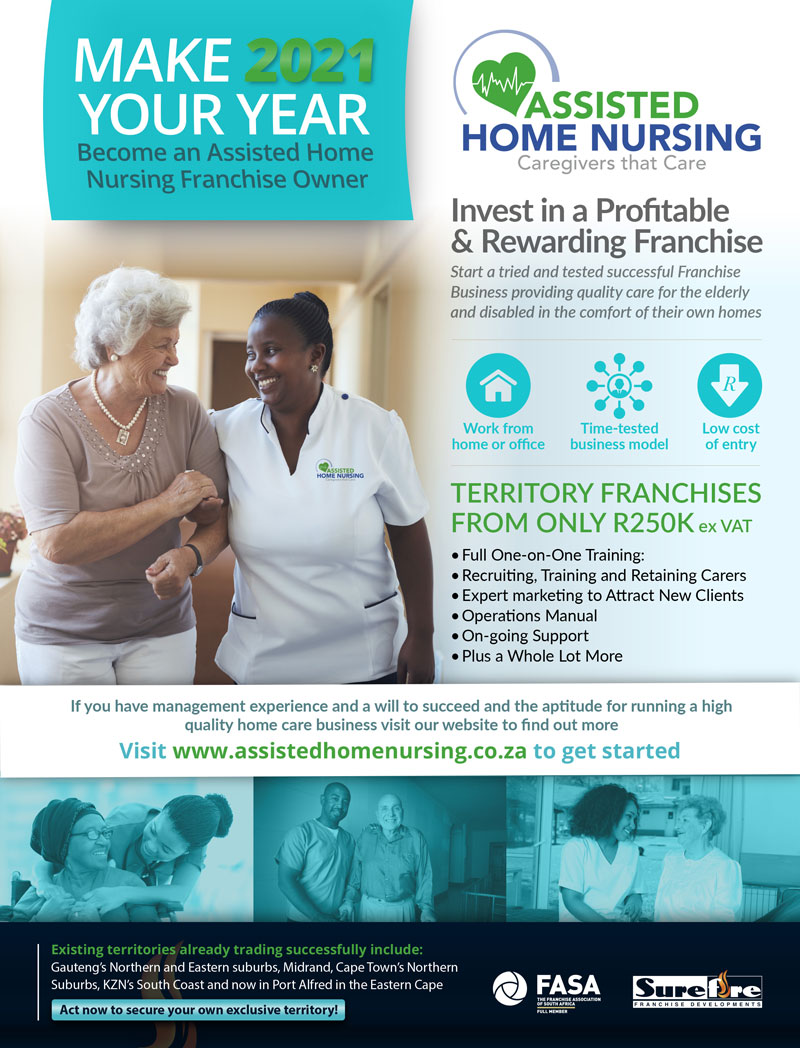 Assisted Home Nursing Franchise